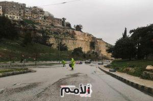 امانة عمان تعلن حالة الطوارئ الخفيفة