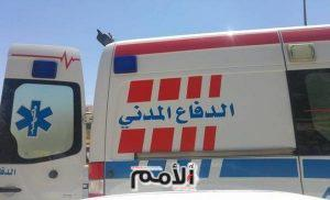 وفاة زوجين وإصابة طفلتهما بتصادم شاحنة ومركبة على طريق النقب